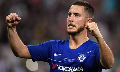 Hazard sẽ là bom tấn chuyển nhượng thứ hai của Real trong hè 2019, sau Luka Jovic. Ảnh: PA.