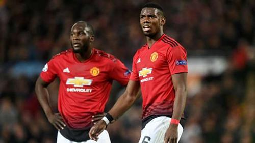 Man Utd chi đậm cho Lukaku và Pogba nhưng đội bóng vẫn thi đấu lận đận. Ảnh:Reuters.