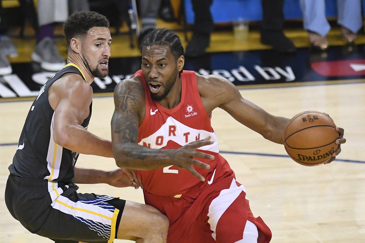 Raptors tiến sát ngôi vô địch NBA đầu tiên trong lịch sử