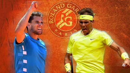 Thiem được mệnh danh là Hoàng tử sân đất nện, còn Nadal từ lâu được xưng tựng như Vua của mặt sân này.
