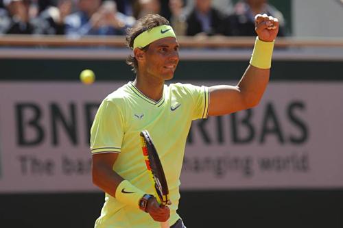 Nadal luôn đạt phong độ huỷ diệt ở Roland Garros.