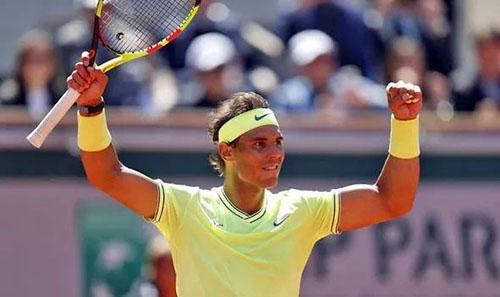 Nadal vẫn quá mạnh trên mặt sân đất nện và tiếp tục thống trị Roland Garros. Ảnh: AP.