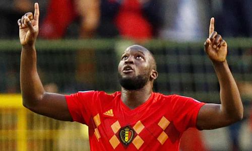 Lukaku ghi 25 bàn sau 21 trận gần nhất cho Bỉ. Ảnh: Reuters.