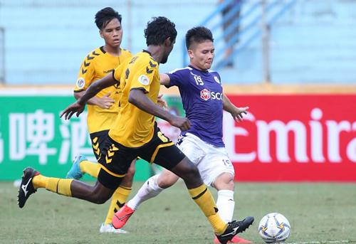 Quang Hải sẽ trở lại khi Hà Nội làm khách củaCeres Negros vào ngày 18/6.