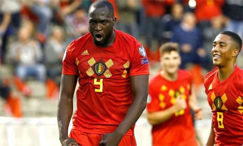 Lukaku thực sự là tiền đạo hiệu quả của tuyển Bỉ. Ảnh: Reuters