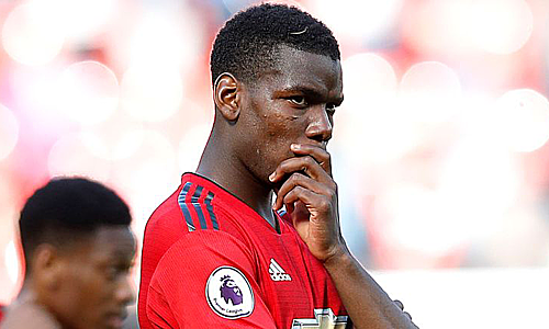 Pogba bị chỉ trích trong thời gian qua vì thái độ thi đấu và lối sống. Ảnh: Reuters.