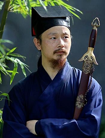 Đạo trưởng Trần Sư Hạnh, phái Võ Đang. Ảnh: Sohu.