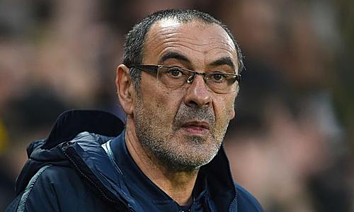 Sarri dự kiến sẽ sớm trở thành HLV Juventus. Ảnh: EPA.