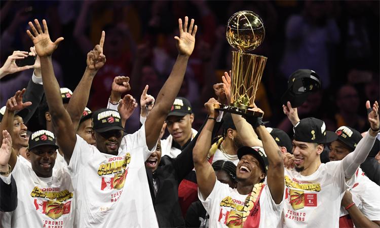 Toronto Raptors vô địch NBA 2019