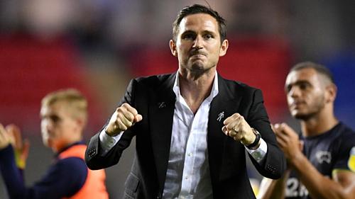 Lampard còn hai năm hợp đồng với Derby. Ảnh: AFP.