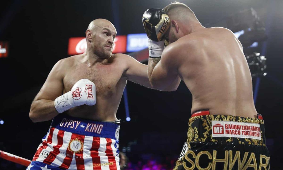 Tyson Fury thắng knock-out tay đấm bất bại người Đức