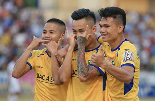 Hạ HAGL, SLNA cắt mạch sáu trận không biết thắng ở V-League 2019.