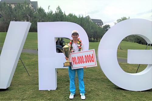 Nguyễn Gia Quân lần đầu vô địch VPG Tour - ảnh 1