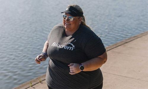Bà mẹ nặng gần 200kg quyết tâm chinh phục marathon - ảnh 2