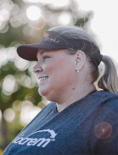 Bà mẹ nặng gần 200kg quyết tâm chinh phục marathon - ảnh 3