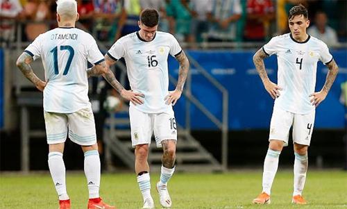 Argentina đang cần đứng lên lấy lại danh dự. Ảnh: Reuters