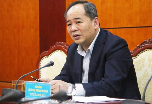 Ông Lê Khánh Hải muốn nhờ các doanh nghiệp hỗ trợ thêm VFF để có kinh phí tái lý hợp đồng với HLV Park Hang-seo.