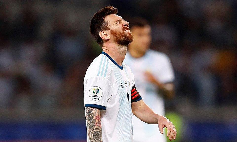 Messi chưa có đường chuyền tạo cơ hội ở Copa America