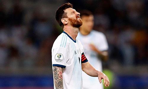 Messi chưa có phong độ caosau hai trận vòng bảng Copa America. Ảnh: Joga Bonito.