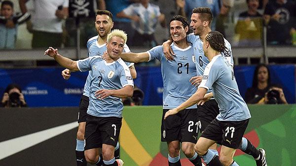 Uruguay quyết tâm vô địch Copa America 2019.