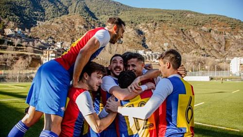 Andorra sẽ chơi ở hạng tư ở mùa giải 2019-2020. Ảnh: FC Andorra.