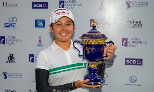 Thitikul là hiện tượng golf của Thái Lan nói riêng và thế giới nói chung. Ảnh: Bangkok Post.