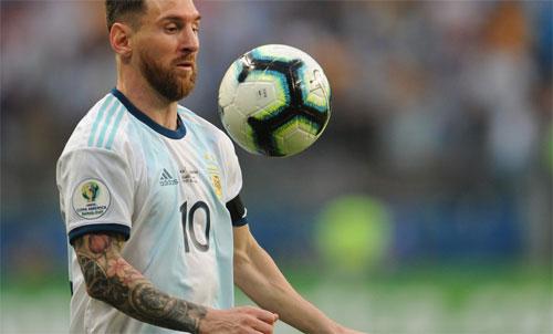 Đội tuyển của Messi tránh được nguy cơ bị loại ngay vòng bảng. Ảnh: Reuters