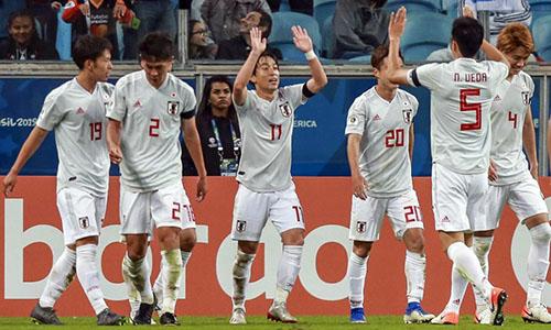 Nhật Bản bị nhiều đội Nam Mỹ chỉ trích khi dự Copa America 2019. Ảnh: AFP.