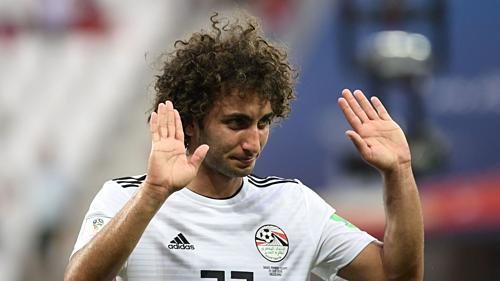 Tiền vệ Warda trở thành tâm điểm chỉ trích tại Ai Cập trong những ngày qua. Ảnh: AFP.