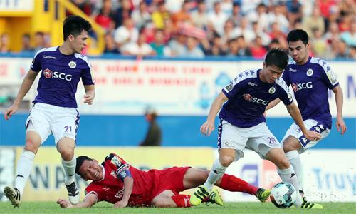Hà Nội và Bình Dương giúp bóng đá Việt Nam lần đầu cùng có hai đại diện ở trận cầu cao nhất bóng đá khu vực cấp CLB. Ảnh: Đức Đồng.