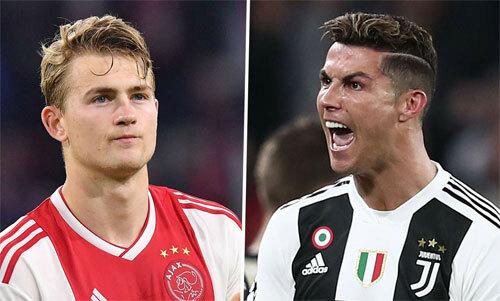 De Ligt và Ronaldo nhiều khả năng sẽ chung màu cờ sắc áo từ mùa tới.