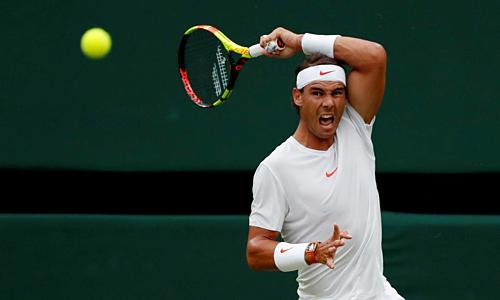 Nhánh đấu của Nadal khó nhất nếu so với Djokovic hay Federer. Ảnh: Reuters.