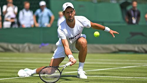 Djokovic đang tập luyện chuẩn bị cho Wimbledon khởi tranh từ ngày 1/7.