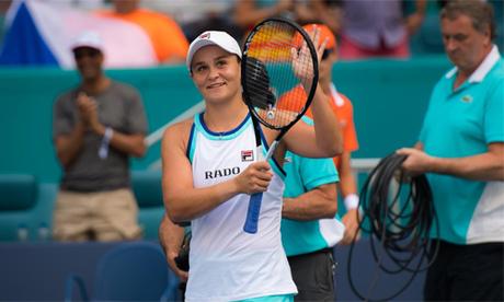 Barty chia sẻ rằng cricket đã giúp cô cải thiện đáng kể sự điềm tĩnh khi trở lại thi đấu tennis. Ảnh: WTA.