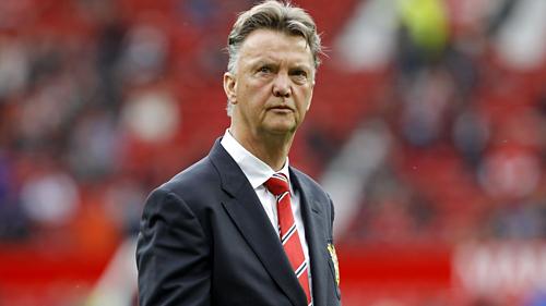 Van Gaal ra đi sớm một năm so với hợp đồng ở Man Utd. Ảnh:AFP.