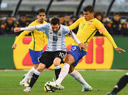 Sân nhà mang tới lợi thế lớn cho Brazil khi đối đầu Argentina. Ảnh:AFP.