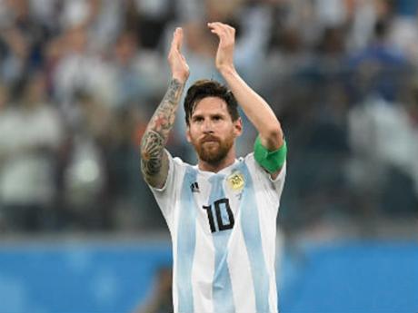 Messi từng tuyên bố giã từ đội tuyển sau chung kết Copa America 2016. Ảnh: AFP.