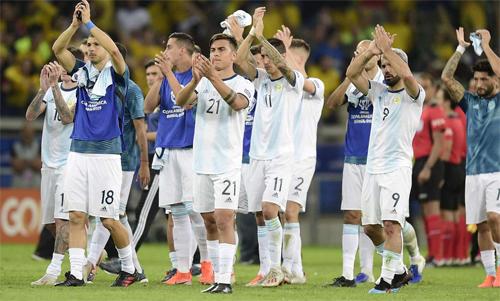 Argentina đã có một trận đấu hay nhưng thiếu may mắn. Ảnh: Reuters