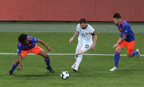 Argentina thua Colombia 0-2 ở Copa America 2019 - ảnh 3