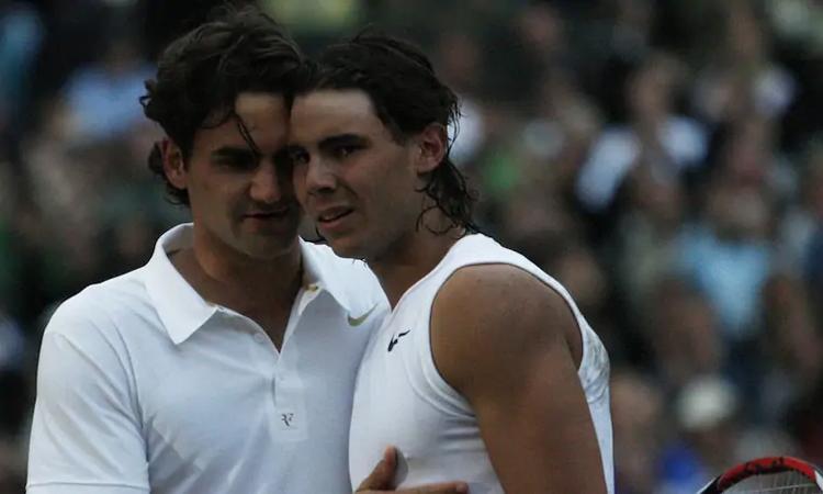 Trận Federer - Nadal năm 2008 là trận chung kết đơn nam dài thứ hai trong lịch sử Grand Slam. Ảnh: AAP.