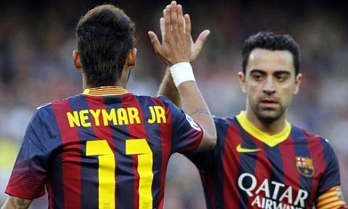 Xavi cho rằng Neymar khó trở lại Barca. Ảnh: AFP.