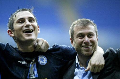 Mối quan hệ giữa Lampard và Abramovich là rất tốt khi tiền vệ này còn thi đấu.