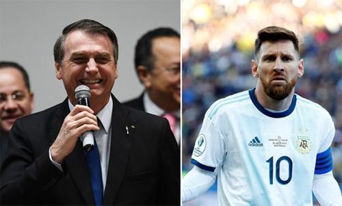 Tổng thống Brazil châm chọc Messi - ảnh 1