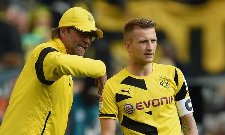 Reus trưởng thành nhờ thời gian làm việc cùng Klopp tại Dortmund.