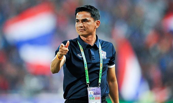 Kiatisuk từng đưa Thái Lan vào vòng loại cuối cùng World Cup 2018 khu vực châu Á.