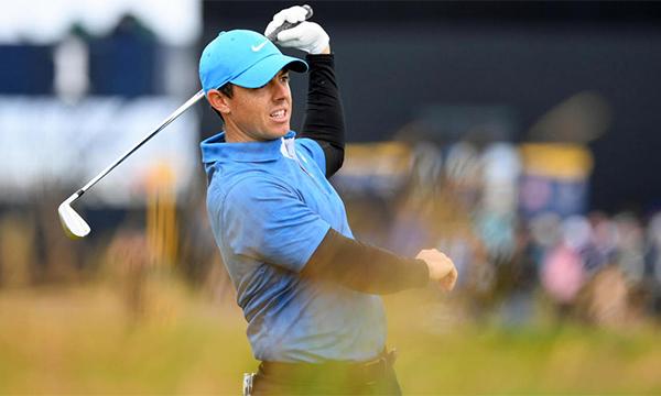 Rory McIlroy lần đầu quadruple-bogey kể từ US Open 2013. Ảnh: CBS Sports.