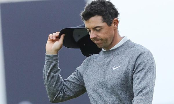 McIlroy (ảnh) cùng Justin Harding là hai golfer chơi tốt nhất ở vòng hai. Ảnh: Reuters.