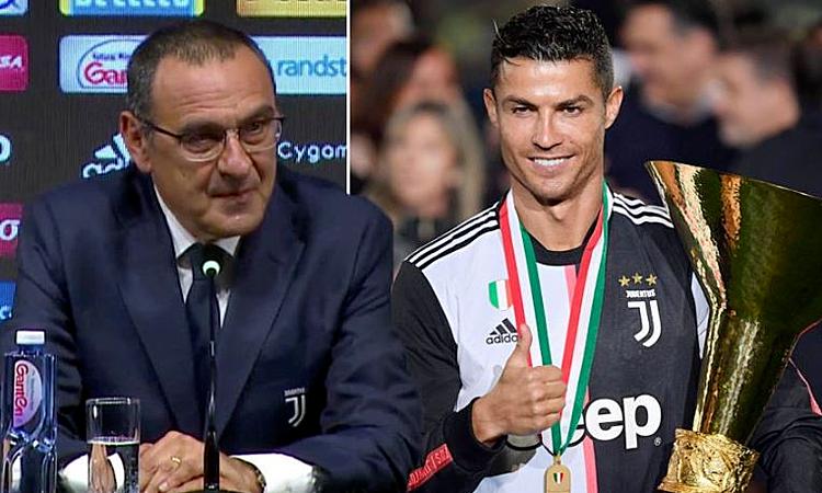Sarri: Huấn luyện Ronaldo là bước tiến của tôi - ảnh 1