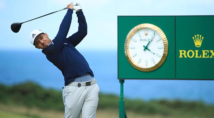 Schauffele sa sút ngay sau khi bị buộc phải đổi gậy driver tại ngày thi đấu thứ ba The Open.Ảnh: PGA Tour.