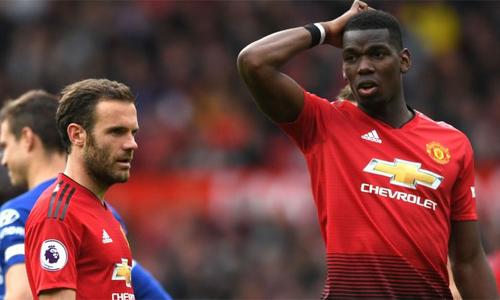 Mata muốn Pogba ở lại và cống hiến cho Man Utd. Ảnh: AFP.